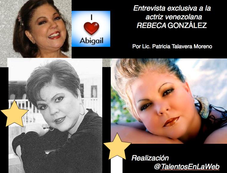 actriz Rebeca González renny otollina