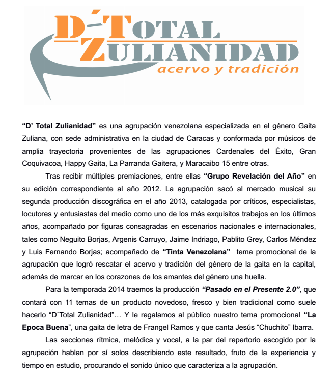 D´-TotalZulianidad