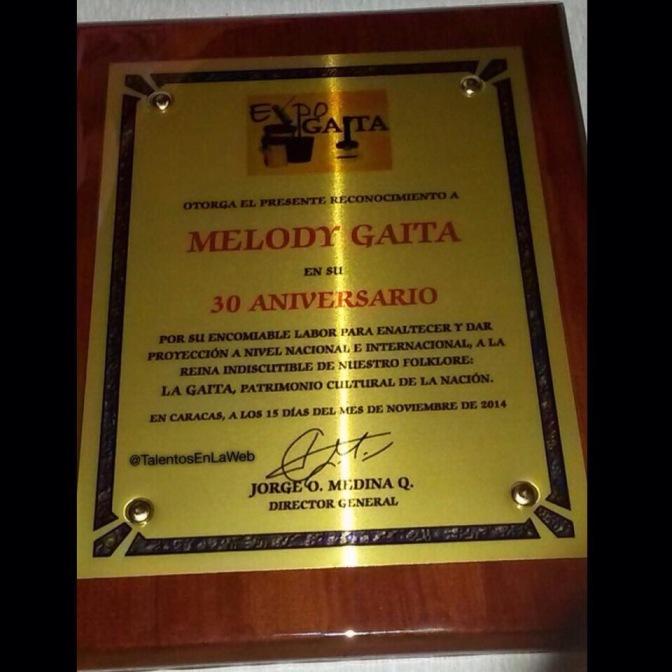 melody gaita 30 aniversario